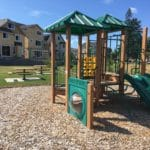 Private community park and play area.