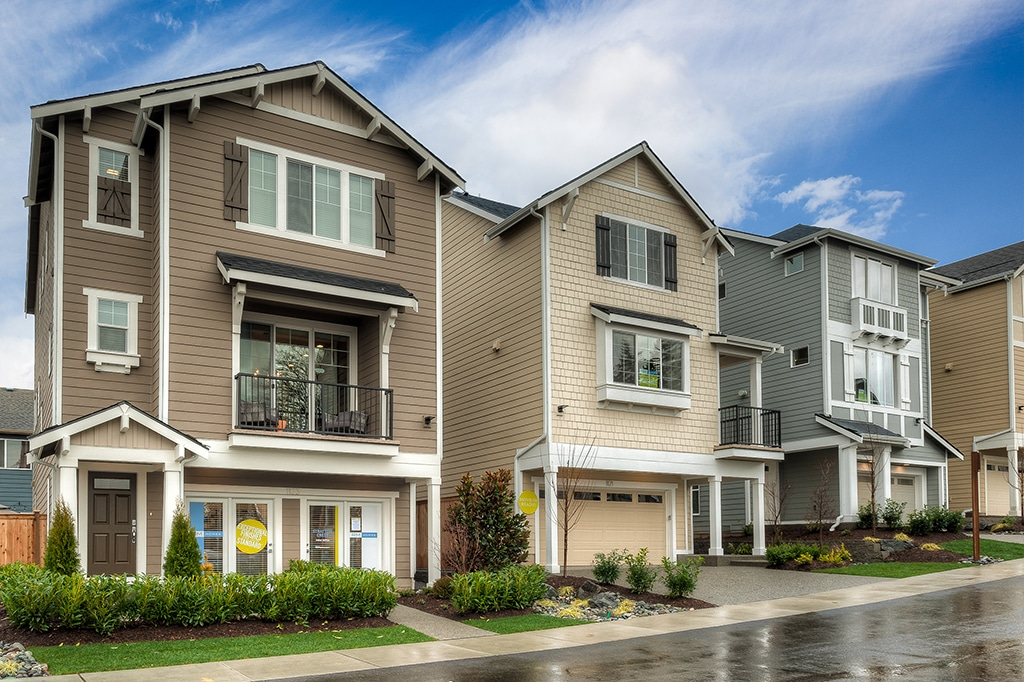 Stratton Crest - New Homes in Lynnwood.