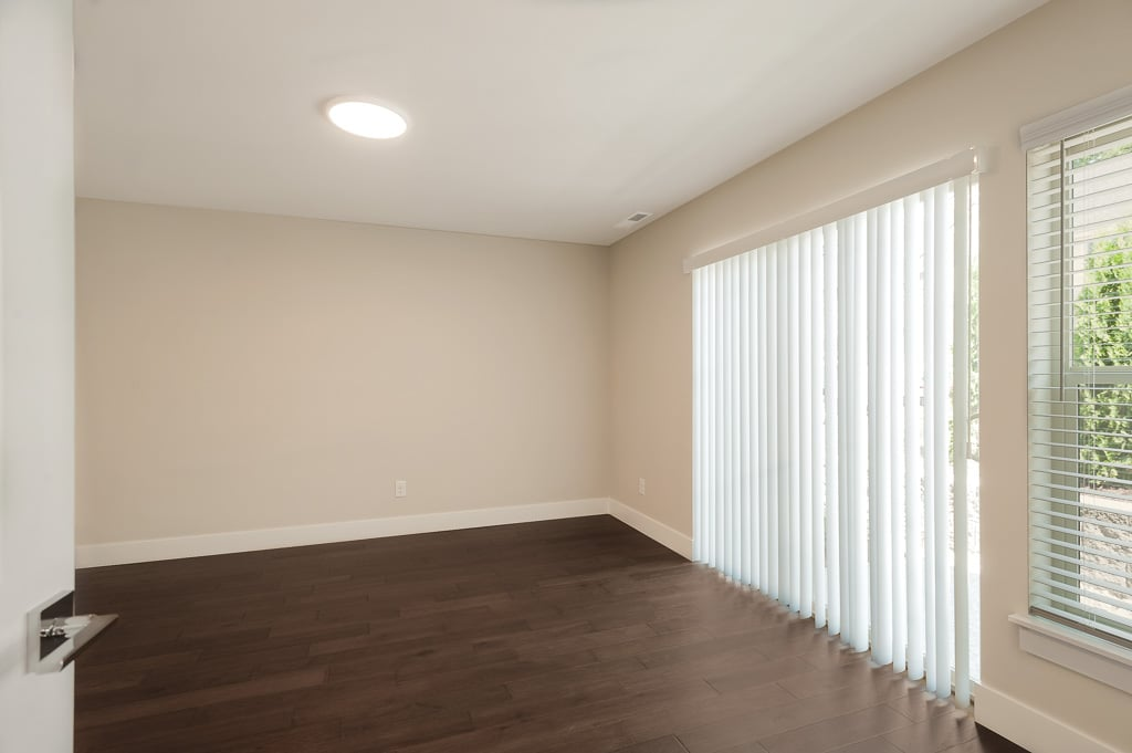 Lower level 4th bedroom - a perfect home office or guest suite!