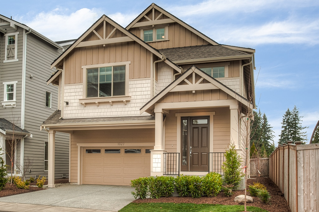 Lot 9 is move-in ready at Stratton Crest in Lynnwood